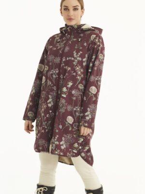Ilse Jacobsen softshell regnjakke dame lang RAIN122