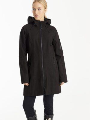Ilse Jacobsen softshell regnfrakke dame Rain37 3/4 lang