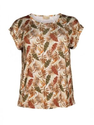 Cassipeia +size ANICKA top med print
