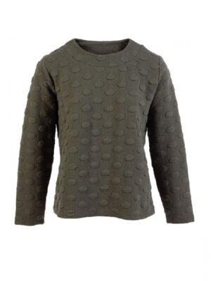 Cassiopeia +size strik LOTTE BLOUSE trøje dame