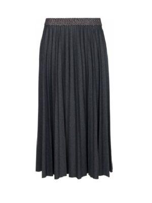 One Two Madalena plisse nederdel
