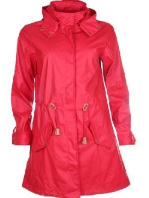 Soya Concept regnfrakke dame ALEXA (rød)