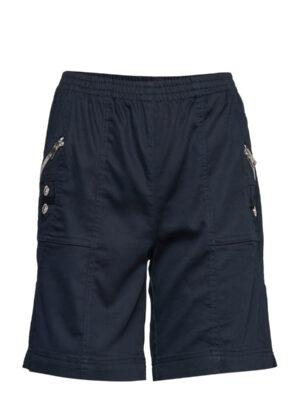 Soya Concept shorts dame med elastik Akila (navy)