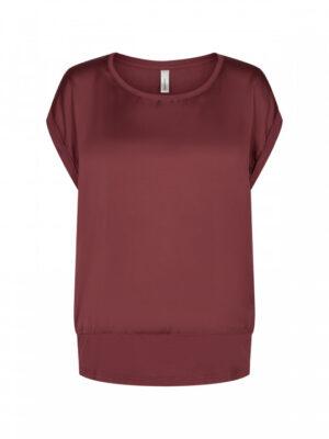 Soya Concept Bluse dame (rød)