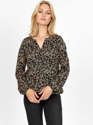 Soya Concept sc-felicity aop t-shirt dame