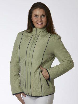 danwear malou jakke grøn
