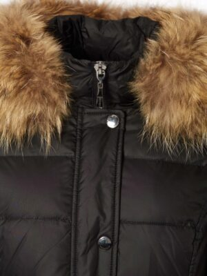 Danwear dunjakke med ægte pels