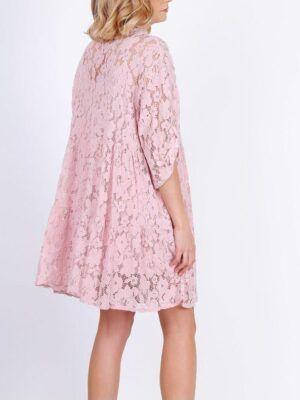 Onesize blonde tunika dame med under kjole