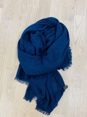 bella donna blåttørklæde dame ensfarvet