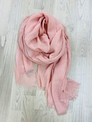 bella donna ensfarvet tørklæde