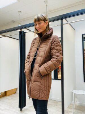 Soya Concept vinterfrakke dame brun SC-NINA1