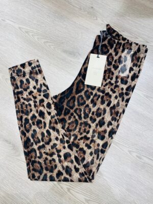 Freequent leopard leggins dame FQMESHIA-LE
