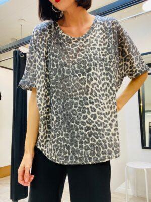 Vie ta Vie onesize leopard strik